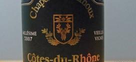 Chapell St. Arnoux – Côtes du Rhône