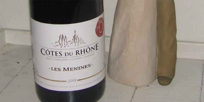 Les Menines – Côtes du Rhône 2009