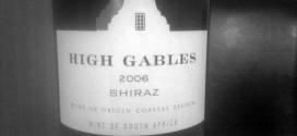 Hvor god en rødvin er High Gables Shiraz 2006?