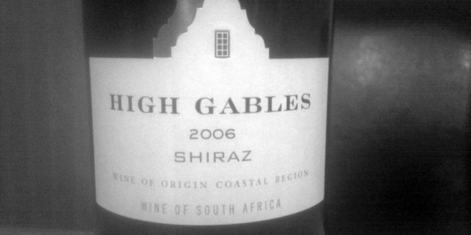 Hvor god en rødvin er High Gables Shiraz 2006?