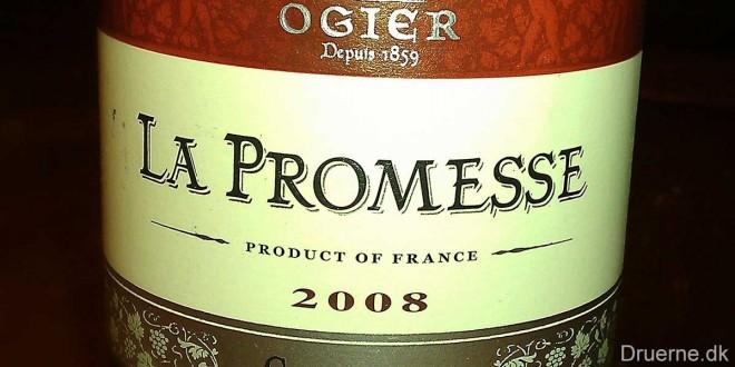 Antoine Ogier – La Promesse Rhone – Syrah 2008