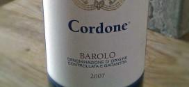 Cordone Barolo 2007 er imponerende god