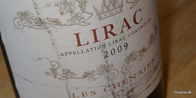 Les Chenaies Lirac 2009