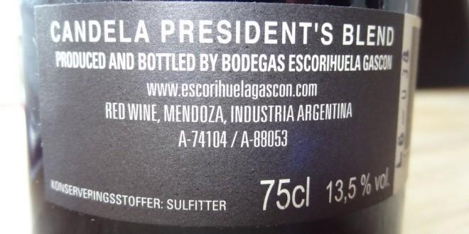 Candela President's Blend
