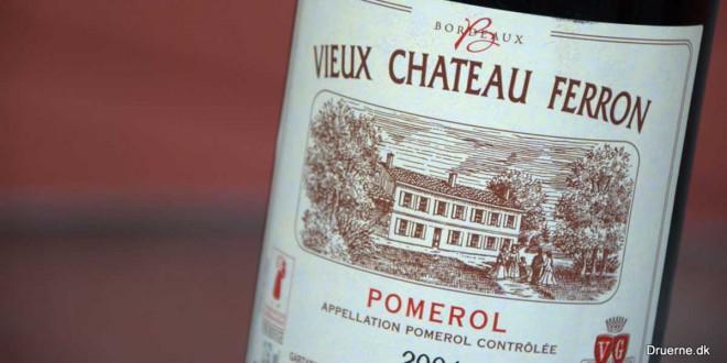 Lækker Pomerol fra Vieux Chateau Ferron