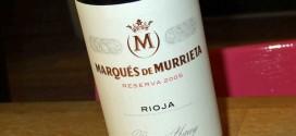 Fantastisk Rioja fra Marqués de Murrieta