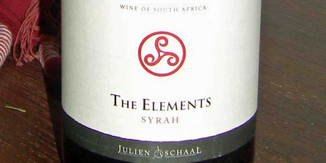 The Elements – Syrah 2009