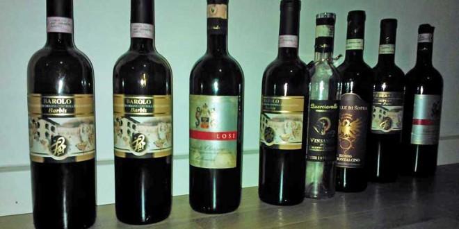 Vinsmagning hos Dragsholm vine: Italien