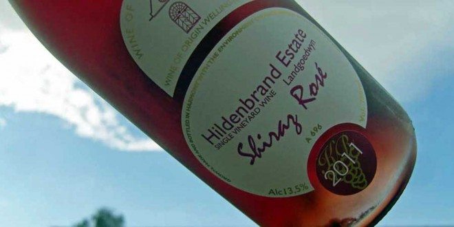 Intens shiraz rose fra Hildenbrand Estate