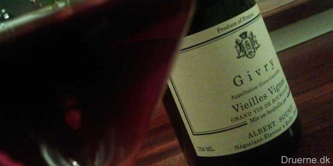 Albert Sounit – Vieilles Vignes Givry 2004
