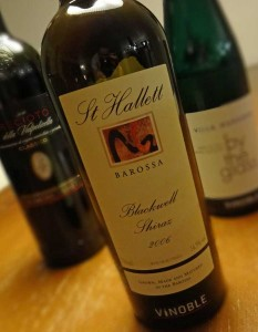 St. Hallett Blackwell Shiraz 2006