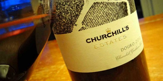 Churchills Estates Douro 2010 fra Portugal