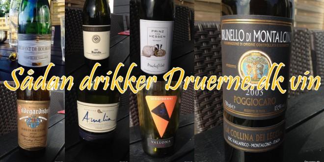 Lækker vin – sådan drikker Druerne.dk