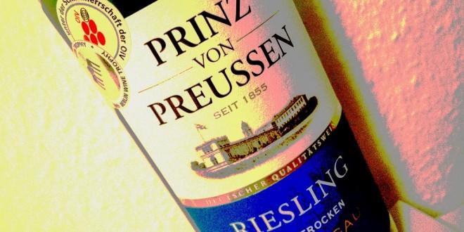 Prinz von Preussen Halbtrocken