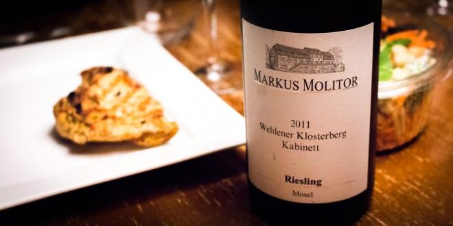 Markus Molitor Wehlener Klosterberg Kabinett Riesling 2011 Mosel