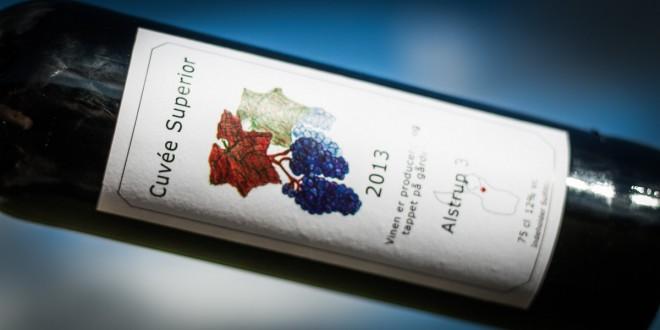 Cuvée Superior Alstrup 3 – Skøn dansk vin