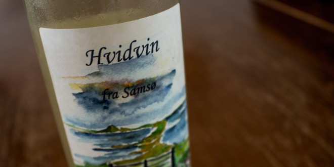 Hvidvin fra Samsø Vin Syndikat I/S 2013