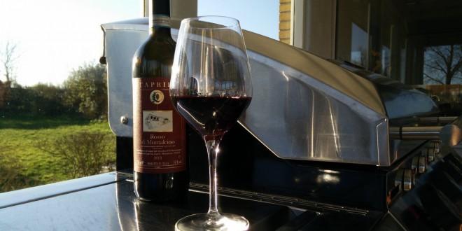 Caprili Rosso di Montalcino fra Laudrup Vin