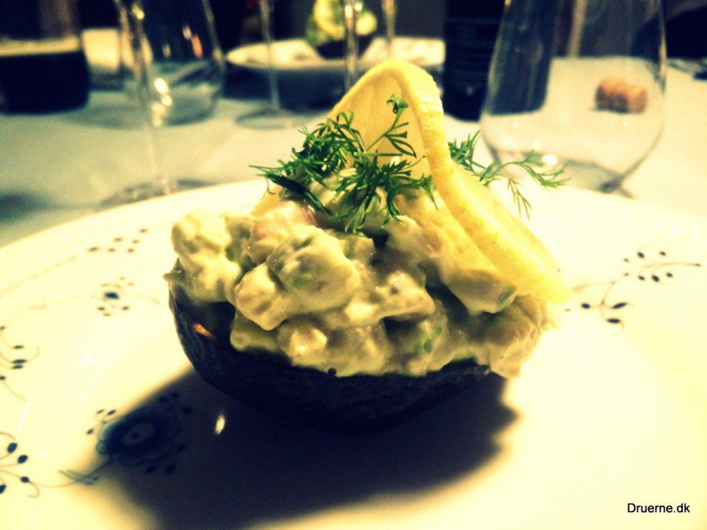 Avocado med rejer