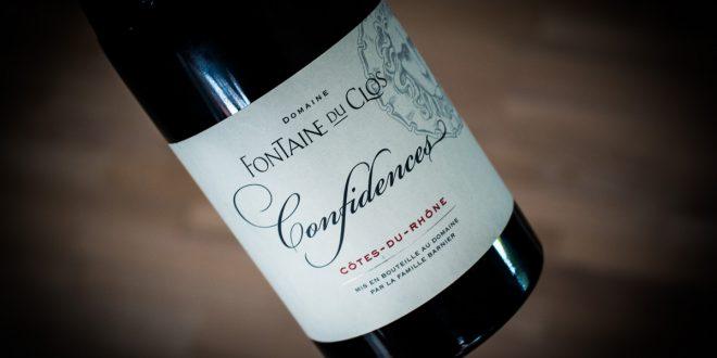 Fontaine du Clos Confidences Cotes du Rhone 2016
