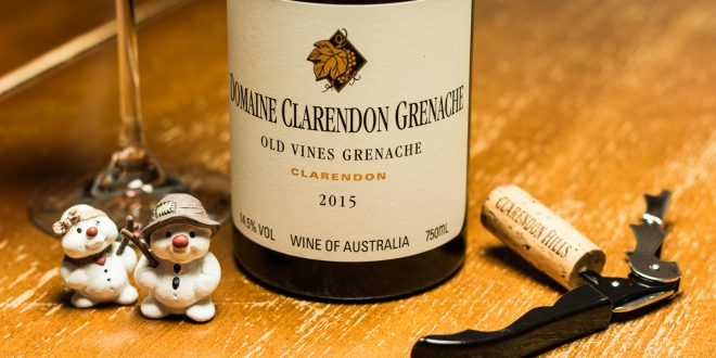 Intens julevin fra Winefamly: Domaine Clarendon Grenache 2015