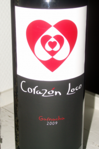 Corazon Loco - Etiket